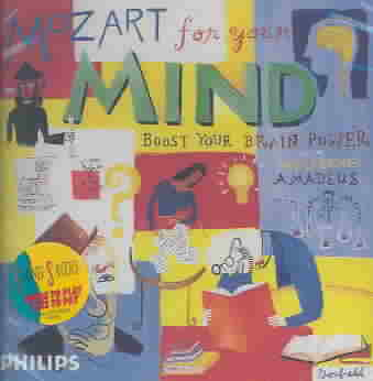 MOZART FOR YOUR MIND (CD)