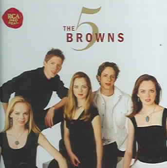 5 BROWNS BY 5 BROWNS (CD)